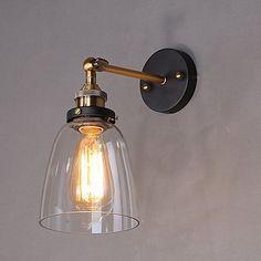 Rustic / Lodge Wall Lamps & Sconces Metal Wall Light 110-120V / 220-240V 60W 2020 - £ 49.14