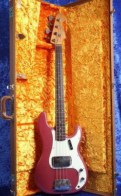 1960 Fender Precision Bass, Original, except Burgundy Mist Body Refinish Fender Bass Guitar, Telecaster Guitar, Fender Guitars, I Love Bass, Fender Precision Bass, Zanotti Shoes, Double Bass, Playing Guitar, Giuseppe Zanotti