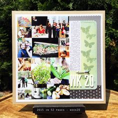 art scrap & more: 2015 in 52 Pages ➲ WEEK 20 // SEMAINE 20