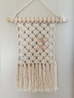 Macrame Wall Hanging 9 by AFibre on Etsy