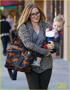 Hilary Duff +Luca