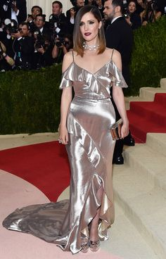 ROSE BYRNE in a Ralph Lauren Collection