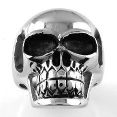Stainless Steel Casting Ring - Skull JewelryVolt. $14.95