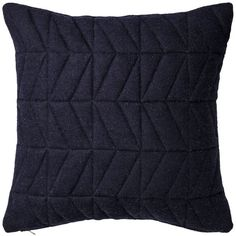 Quilted kudde 50x50 cm, navy Bloomingville Köp online på Rum21.se ❤ liked on Polyvore featuring bags, handbags, navy handbags, quilted handbags, blue quilted handbag, quilted bag and blue bag