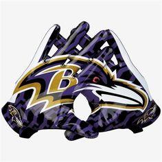 Nike Baltimore Ravens Vapor Fly Team Authentic Series Gloves - Purple/Black