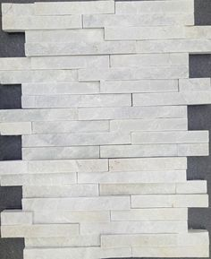 White Quartzite Culture Stone Ledge Stone Wall Cladding Stone Wall Pane