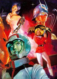 Gundam Illustration by Yas