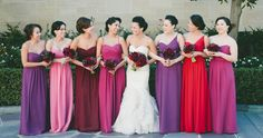 Top 10 Colors for Fall Bridesmaid Dresses 2015Bridesmaid Dresses Ideas & Wedding Color Trends | TulleandChantilly.com