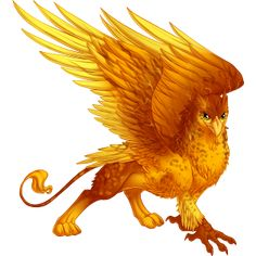 Griffin - it's like a bird crossed with a big cat.