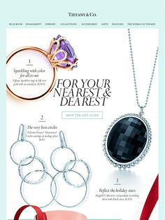 The Tiffany Gift Guide: Brilliance for All - Tiffany