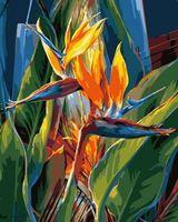 Vie Dunn-Harr - Tropical Hideaway - oil on canvas - Exotic Flowers, Tropical Flowers, Art Floral, Watercolor Flowers, Watercolor Art, Birds Of Paradise Flower, Tropical Art, Botanical Art, Painting Inspiration