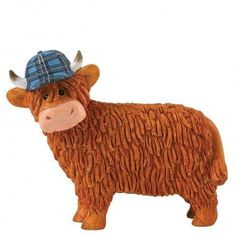 Aaron from the Hairy Coos Collection. . . Sold by TartanPlusTweed.com  A family owned kilt and gift shop in the Scottish Borders