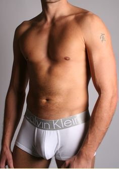 Calvin Klein Silver/White Steel Trunk by Calvin Klein Designed to fit low across the hips, this figure-hugging trunk in soft white cotton is contoured across the front for support. Sexy steel-coloured elasticated fabric has been used to create the tradem http://www.comparestoreprices.co.uk/mens-underwear/calvin-klein-silver-white-steel-trunk-by-calvin-klein.asp