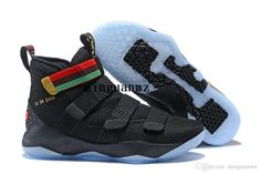 46810d554238 Lebron 11 Court General Basketball Shoes Soldiers 11 Magic Buckle James 11  897644-101 size