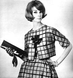 Jean Shrimpton, photo by F. 1960s Fashion, Boho Fashion, Fashion Dresses, Vintage Fashion, Hijab Fashion, Petite Fashion, Fall Fashion, Vintage Style, Style Fashion