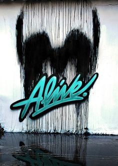 Alive.. . #streetart #graffiti