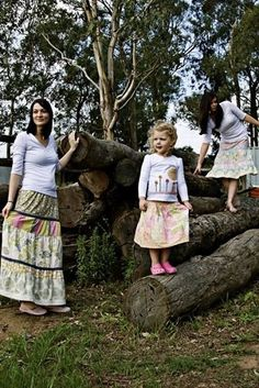 """""""Flirty Skirts"""" designed by Toni Coward for Make It Perfect."""