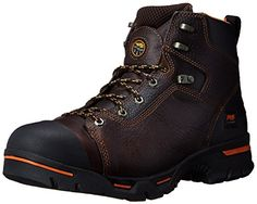Timberland PRO Men's Endurance 6-Inch Soft Toe BR Work Boot,Briar,10.5 M US