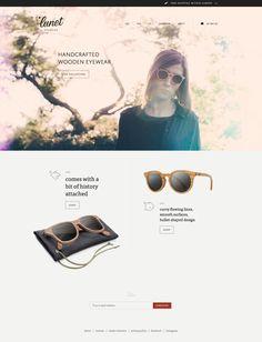 Lunet Eyewear #webdesign #eyewear