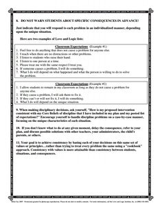how-to-create-a-love-and-logic-classroom.pdf part 2 | Repinned by Melissa K. Nicholson, LMSW http://wws.adoptioncounselinggr.com