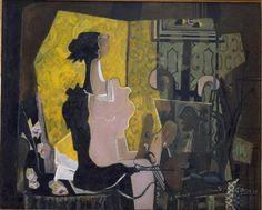 Georges Braque - Woman with the easel 1936 HD