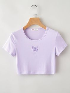Cute Lazy Outfits, Crop Top Outfits, Girly Outfits, Simple Outfits, Pretty Outfits, Girls Fashion Clothes, Teen Fashion Outfits, Cute Fashion, Fashion Styles