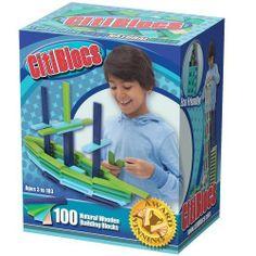 Citiblocs Cool Colors Precision Cut Building Blocks