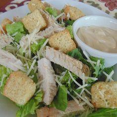 Pork Caesar Salad from Smithfield(R) Photos -  Allrecipes.com #MyAllrecipes #AllrecipesAllstars #AllstarsSmithfield #Ad
