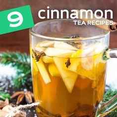 9 Cinnamon Tea Recipes to Help the Body Heal Itself. Cinnamon acts as a natural antibacterial and antimicrobial agent in the body, which may help to explain why it's been regarded for its medicinal value for quite some time. It's always best to help the body heal itself, and employing a natural spice like cinnamon can help further that process along.
