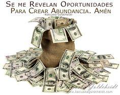 Me rodea La Prosperidad. Vivo en Abundancia Plena…http://decretosyafirmaciones.com/rodeado-de-prosperidad/