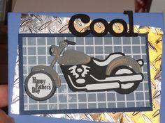 cricut motorcycle card   Hilda's Crafty Lounge: Cricut Cardz Challenge #75/Challenge 15 ...