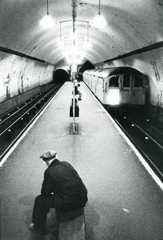 Angel Underground Station, 1968 Islington, London