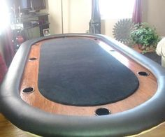 Posts about Poker written by money. Poker Table Diy, Poker Table Plans, Diy Table, Table Games, Game Tables, Pool Tables, Game Room, Home Remodeling, Home Furnishings