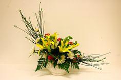 crescent arrangement - Google Search