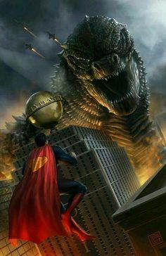 Superman vs. Godzilla