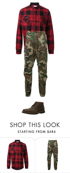 """""""sadiltedys colection"""" by sadiltedy on Polyvore featuring Sacai, R13, Rockport, men's fashion i menswear"""