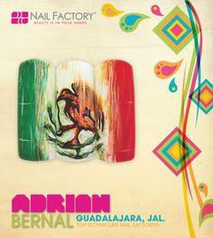 #Adrianbernal #Lovenailfactory #Vivamexico