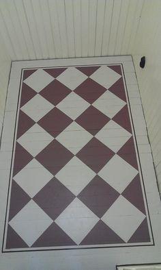 Painted Wood Floors, Stenciled Floor, Beautiful Interior Design, Painting Wallpaper, Scandinavian Interior, Cheap Home Decor, Interior Inspiration, Living Room Decor, Flooring