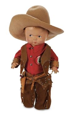 View Catalog Item - Theriault's Antique Doll Auctions - this is Skippy ! my mom left him to us in his trunk with all of his clothes and this outfit- he is a family treasure !