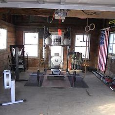 Garage Gyms | Protect the equipment in your garage gym with a garage door from Wayne Dalton: http://www.wayne-dalton.com/residential/Pages/garage-doors.aspx