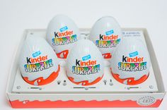5 Surprise Eggs Kinder Surprise Special Airplane Edition