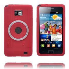 Camera Case (Röd) Samsung i9100 Galaxy S2-Skydd - Fri Frakt - http://lux-case.se/camera-case-rod-samsung-i9100-galaxy-s2-skydd.html