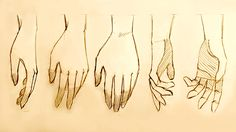 How to Draw Relaxed Hands: 5 Ways by MikeKoizumi.deviantart.com on @deviantART