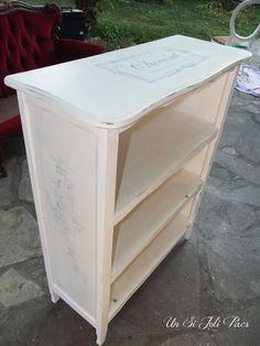 Transférer une impression sur un meuble peint - Un Si Joli Pacs