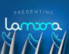 "Consulta mi proyecto @Behance: ""Lamoona Branding""…"