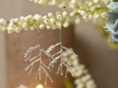 Twig Earrings in Silver or Gold at COLOR $28