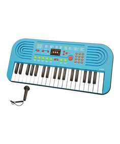 Take a look at this Blue USA Music Pro 37-Key Keyboard & Microphone on zulily today!