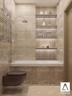Tiny Bathroom Tub Shower Combo Remodeling Ideas 46