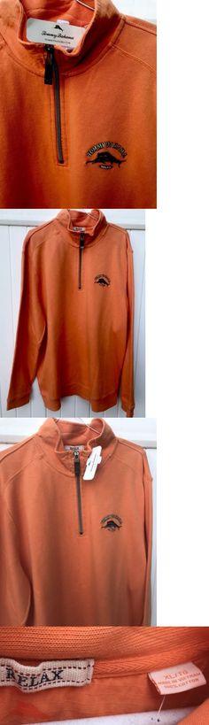 Sweaters 11484: $98 Men S Tommy Bahama 1 4 Zip Long Sleeve Sweatshirt , Size Xl. -> BUY IT NOW ONLY: $39.95 on eBay!