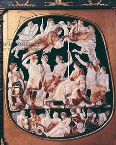 The Great Cameo of France (agate), Roman (1st Century AD) - Bibliotheque Nationale, Paris, France